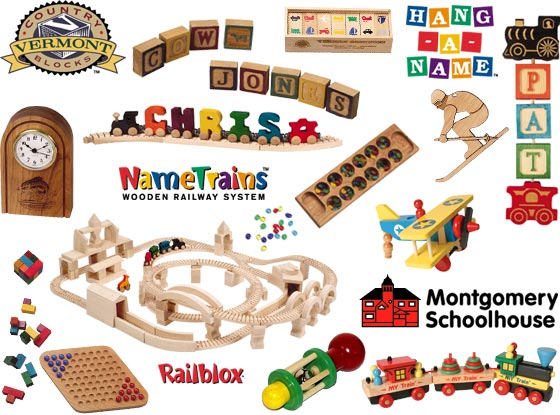 Wooden Toy Parts Catalog : Wooden toy train club collect parts and